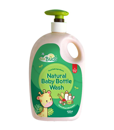 tiny buds baby bottle and utensil wash 600 ml