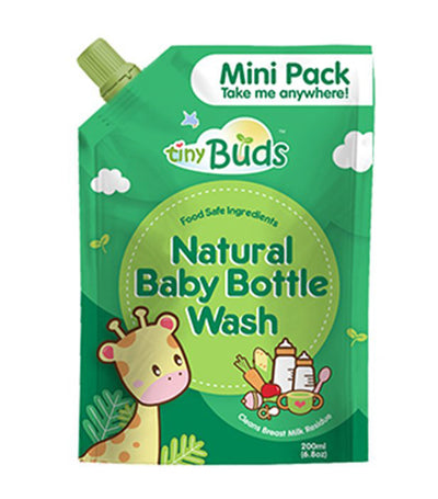 tiny buds baby bottle and utensil wash 200 ml