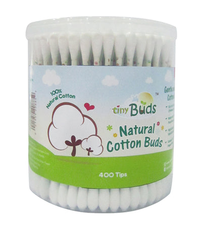 tiny buds baby cotton buds (400 tips)
