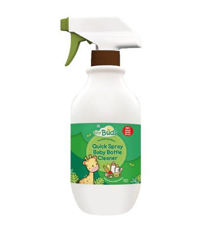 tiny buds quick spray baby bottle cleaner 200 ml