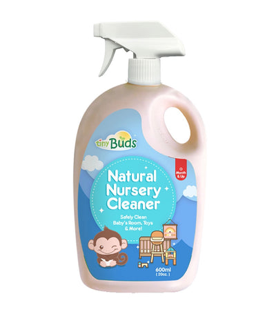 tiny buds natural nursery cleaner bottle 600 ml