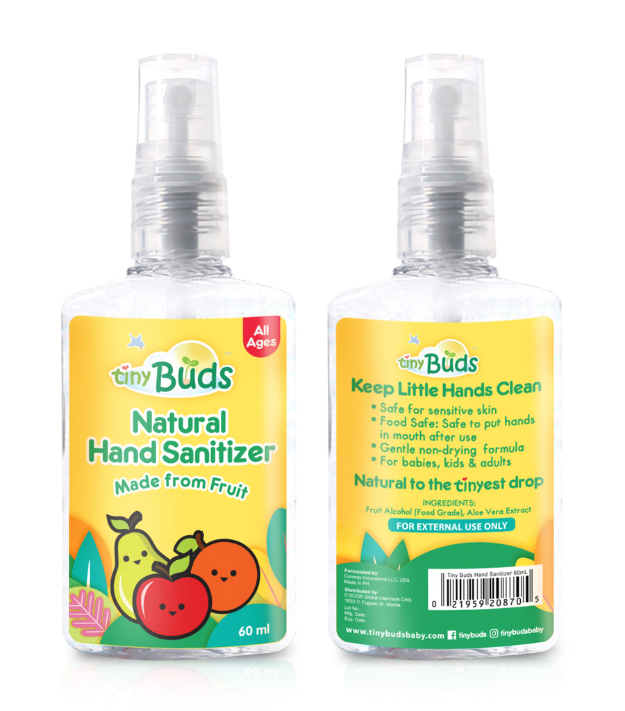 tiny buds natural hand sanitizer
