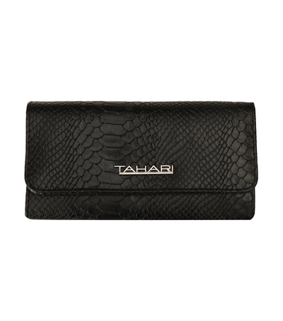 t tahari full bloom wallet clutch black