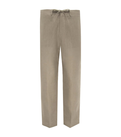 Angeles Linen Pants Beige