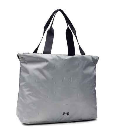 under armour ua cinch printed tote bag gray