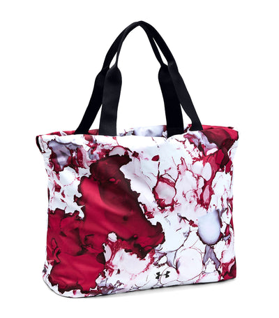 under armour ua cinch printed tote pink