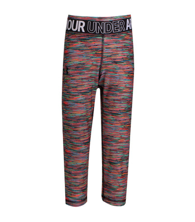 under armour gray girls heatgear capri
