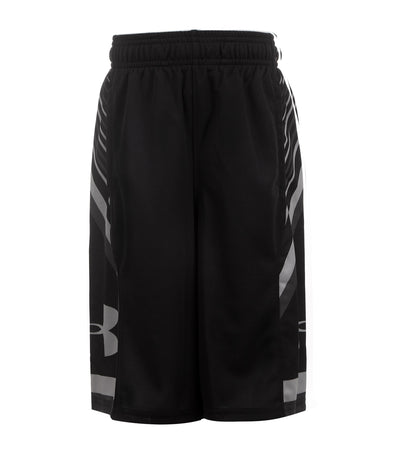under armour black boys space the floor shorts