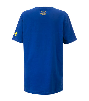 under armour blue boys sc30 the reign basketball t-shirt