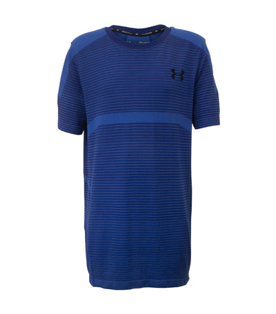 under armour blue boys x level seamless t-shirt