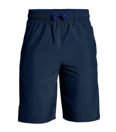 under armour blue boys x level shorts