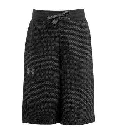 under armour gray boys threadborne ft shorts
