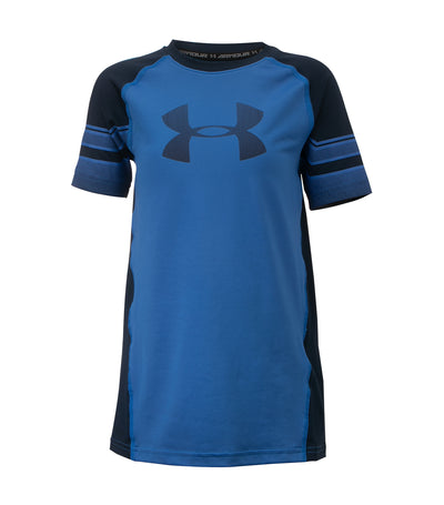 under armour blue boys armour graphic short sleeves t-shirt