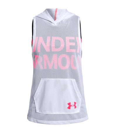 under armour gray girls finale training sl hoodie