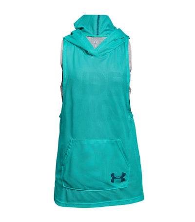 under armour green girls finale training sl hoodie