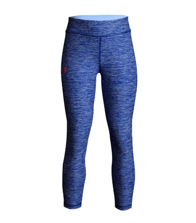 under armour blue girls finale capri