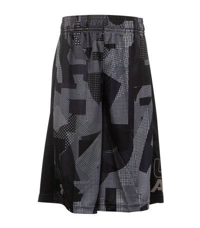 under armour boys stunt printed shorts gray