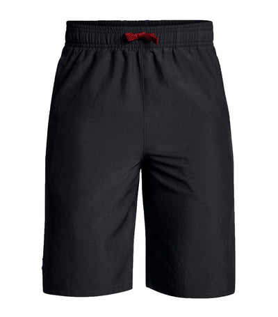 under armour black boys x level shorts