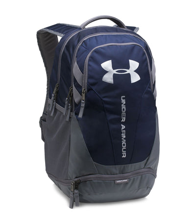 under armour ua hustle 3.0 backpack blue