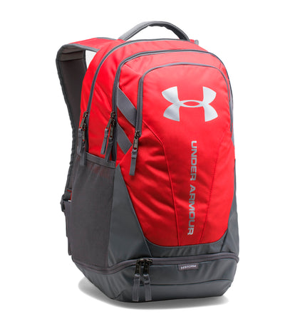 under armour ua hustle 3.0 backpack red