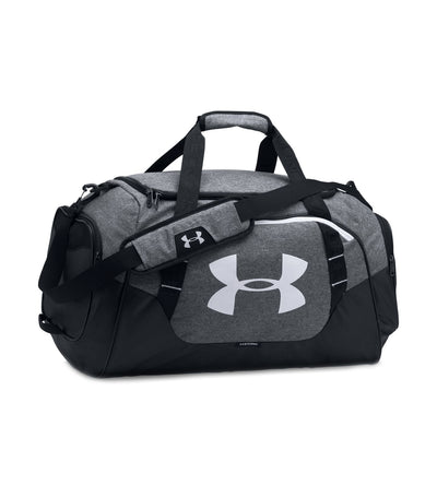 under armour ua undeniable 3.0 medium duffle bag gray