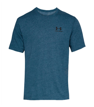 under armour ua sportstyle left chest t-shirt blue