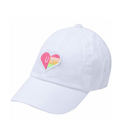 under armour youth patch armour cap - white