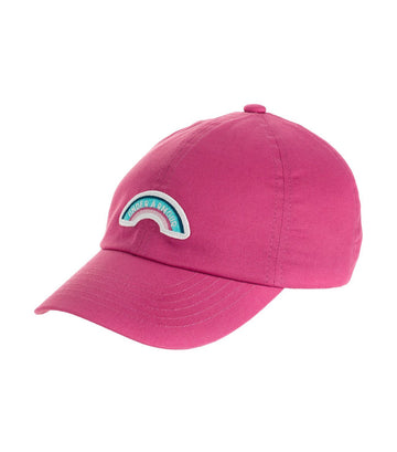 under armour youth patch armour cap - pink