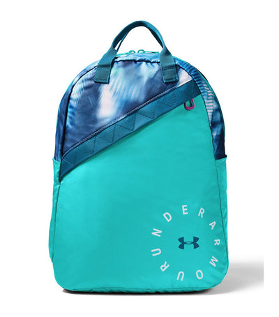 under armour youth favorite backpack 3.0 - green and blue