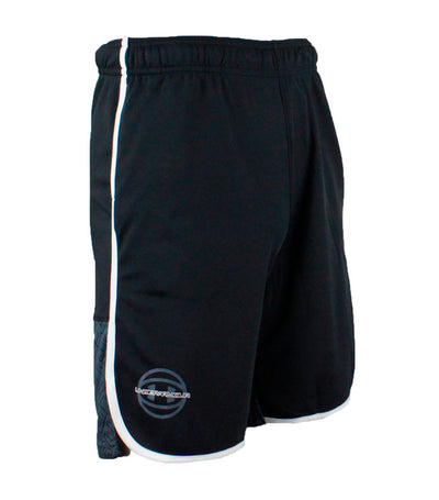 under armour youth black baseline shorts