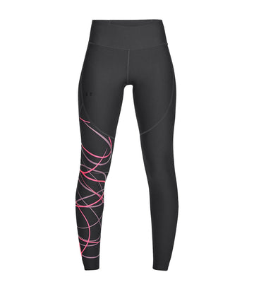 under armour ua vanish leggings poised graphic gray