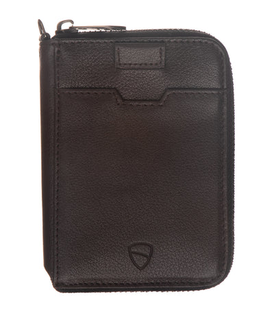 vaultskin notting hill rfid wallet brown