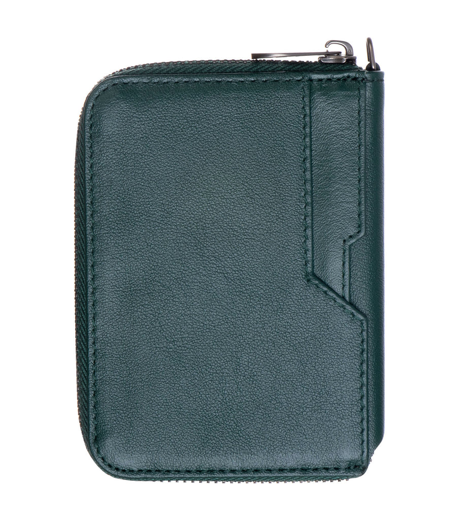 vaultskin notting hill rfid wallet alpine green