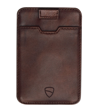 vaultskin chelsea rfid wallet brown