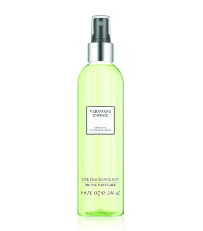 vera wang fragrances embrace green tea and pear blossom body mist 8oz