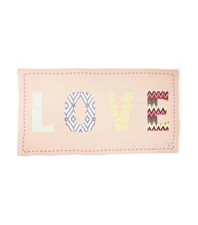 wander by virginia wolf love word wrap multicolor