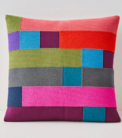 west elm Margot Selby Mixed Squares Pillow Cover