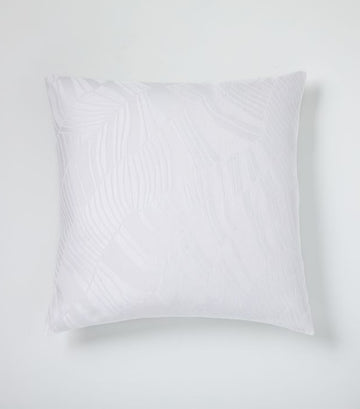 west elm stone white euro sham tencel™ and cotton matelasse rippled duvet cover and shams collection