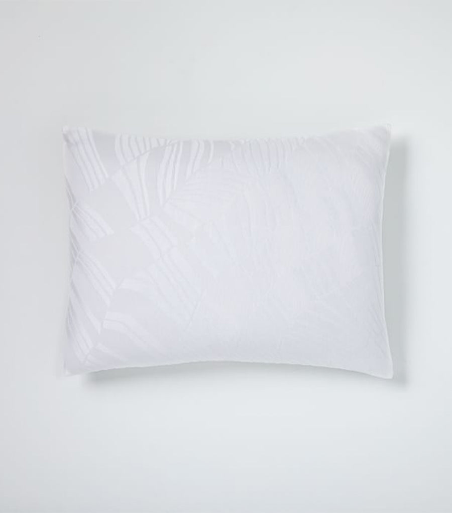 west elm stone white standard sham tencel™ and cotton matelasse rippled duvet cover and shams collection