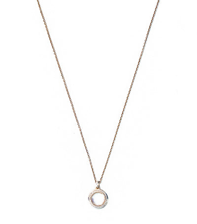 ippolita sterling silver stella lollipop pendant necklace in mother of pearl doublet with diamonds