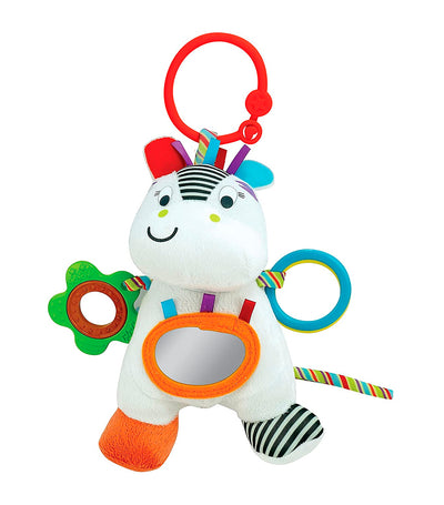 winfun zippy zebra hand rattle
