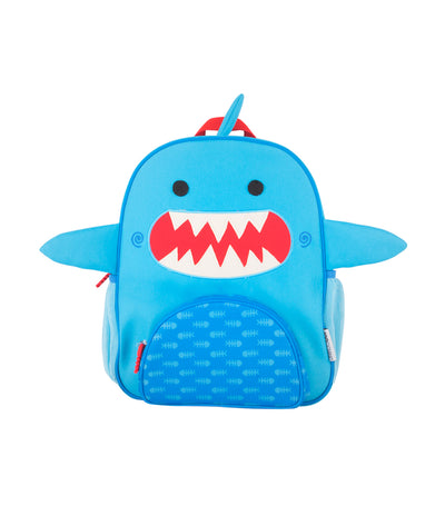 zoocchini toddler backpack - sherman the shark