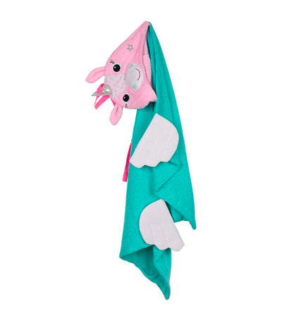 zoocchini hooded towel - ali the unicorn