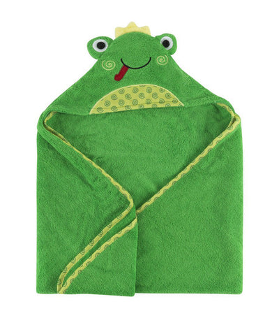 zoocchini baby hooded towel - flippy the frog