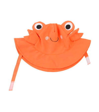 zoocchini upf50+ baby sun hat - charlie the crab