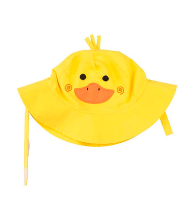 zoocchini upf50+ baby sun hat - puddles the duck