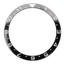 Load image into Gallery viewer, CI0008 SKX007 Dual Time Ceramic Bezel Insert