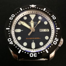 Load image into Gallery viewer, CI0024 SKX007 Flat Ceramic Bezel Insert - SKX Style