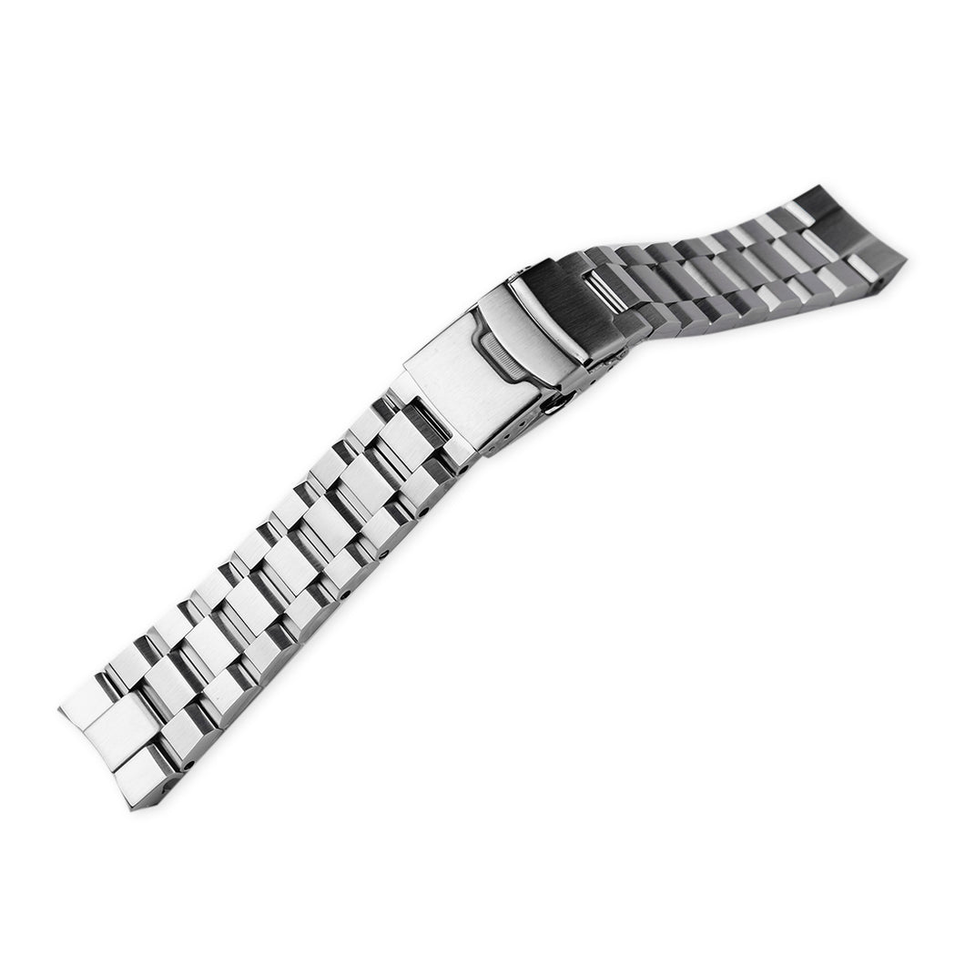 SB0722 Samurai Hexad Bracelet - Brushed