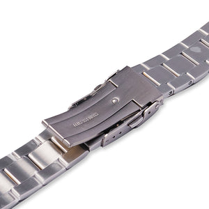 SB0628 SKX007 Oyster Bracelet - Two-Tone Silver/Gold Finish